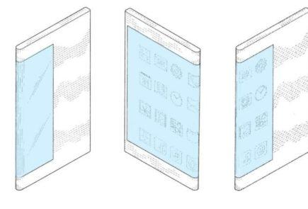 Samsung presenta una patente para un smartphone con pantalla envolvente 6