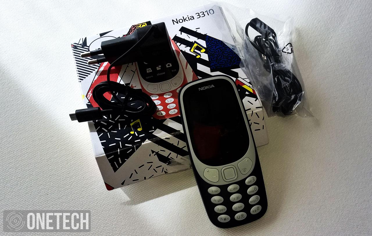 Contenido de la caja Nokia 3310 (2017)
