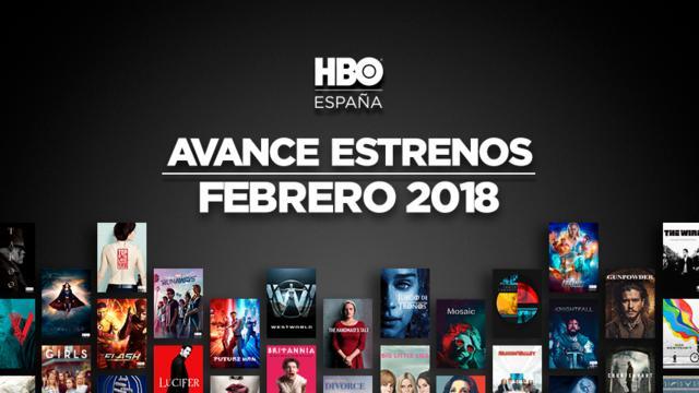 estrenos de HBO para febrero de 2018
