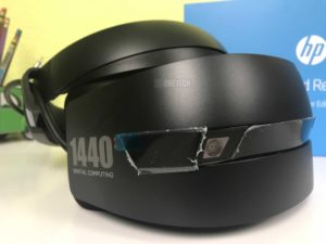 Desempaquetamos el HP Windows Mixed Reality Headset 2