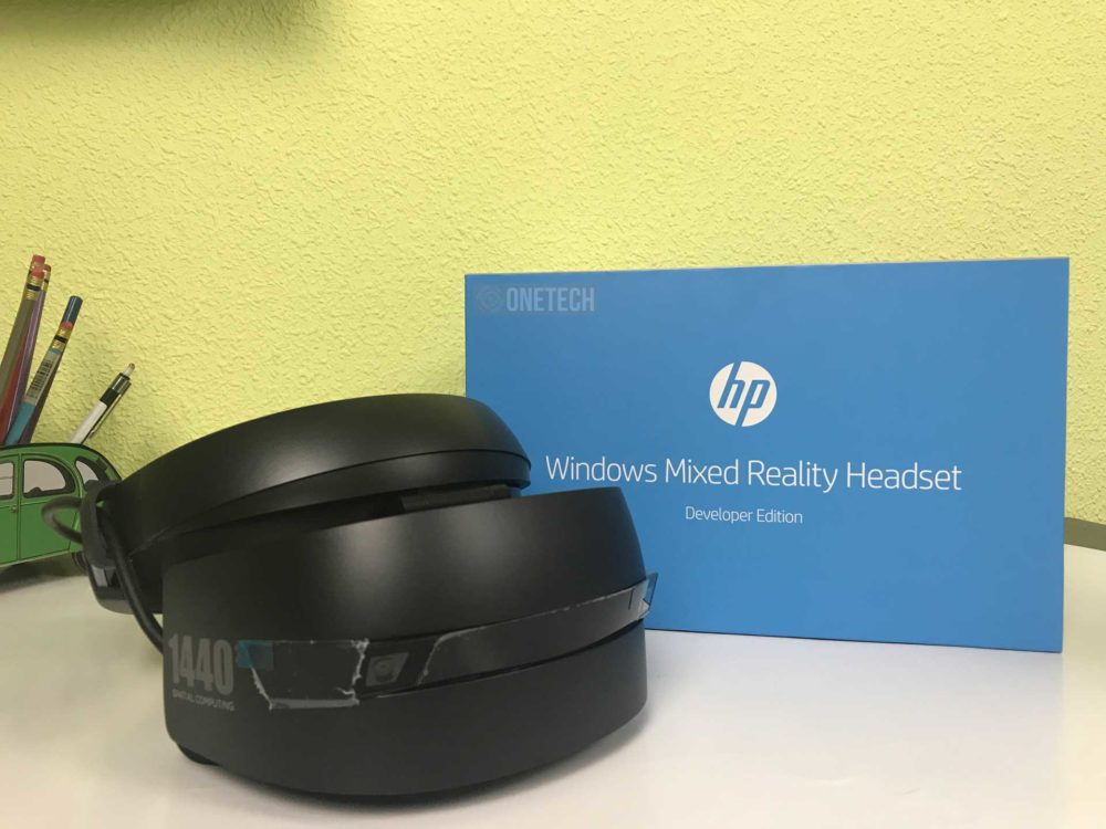 Desempaquetamos el HP Windows Mixed Reality Headset 1