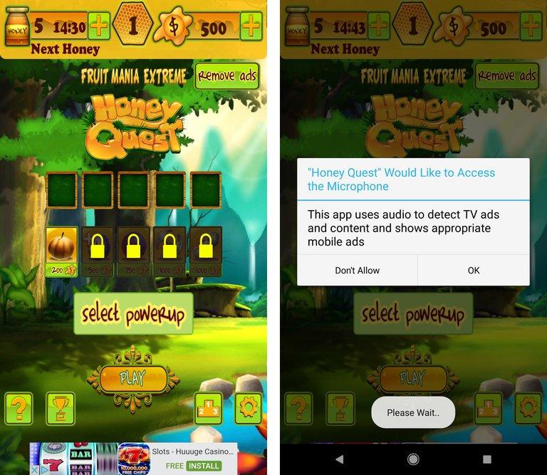 Alphonso en juego Android