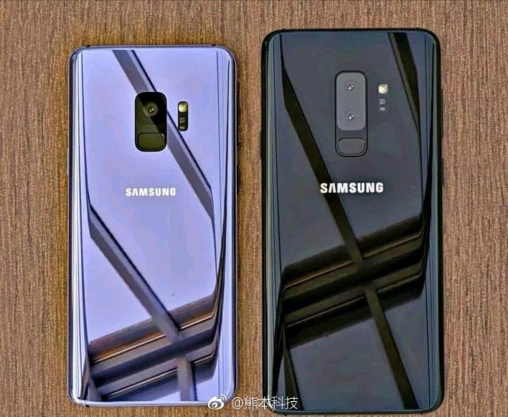 Imágenes del Samsung Galaxy S9 y S9+ se filtran en la red