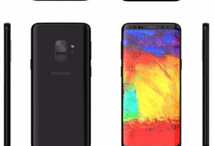 Imágenes del Samsung Galaxy S9 y S9+ se filtran en la red 3