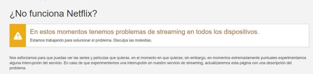¿Netflix no funciona?, la empresa ya trabaja en solucionarlo 1
