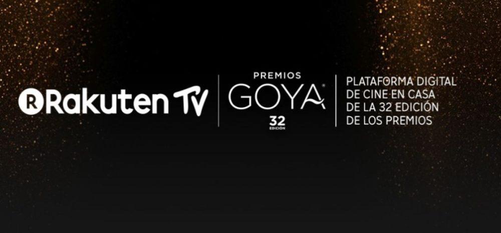 rakuten TV patrocina los premios goya