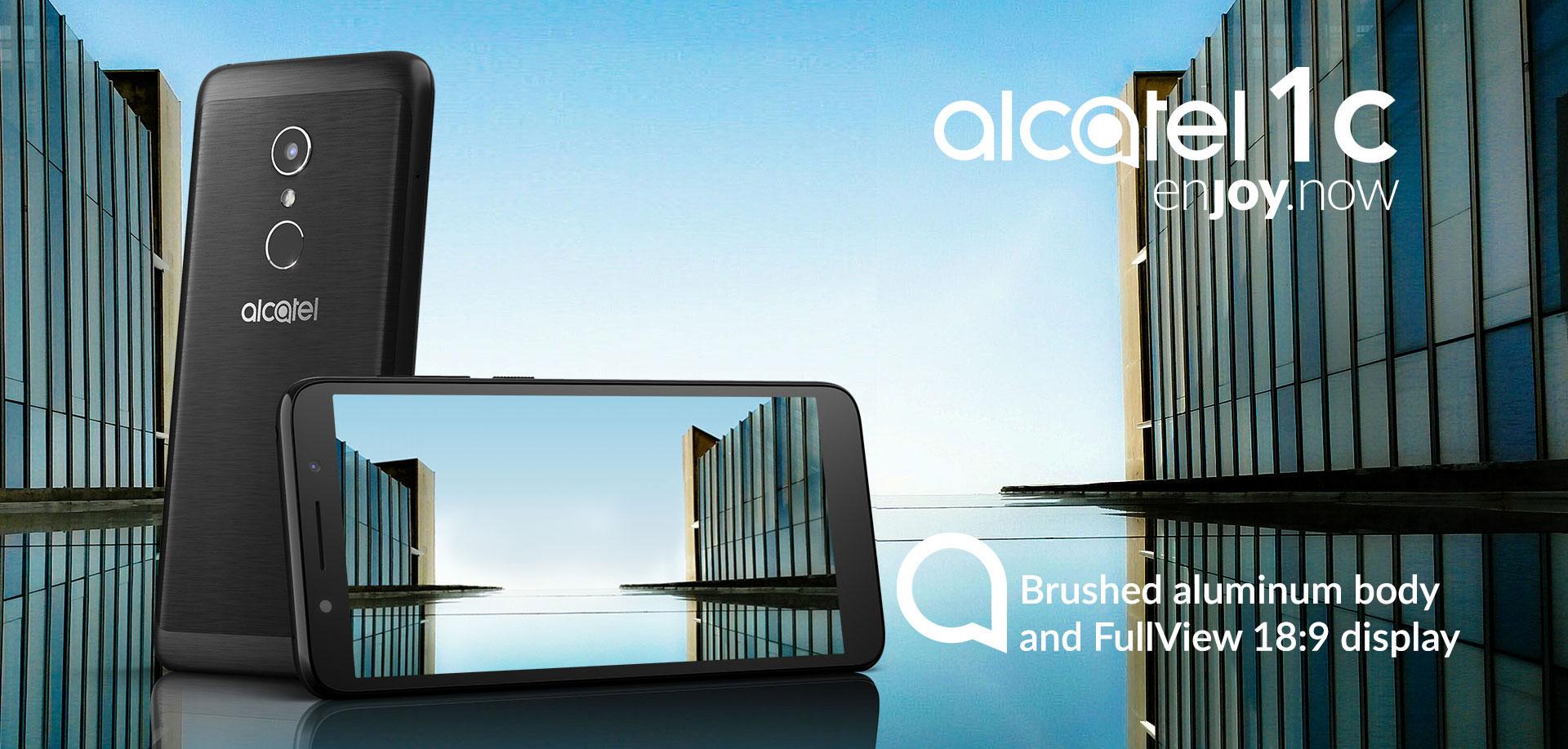 Alcatel 1C, otro gama baja de la marca francesa [MWC18] 1