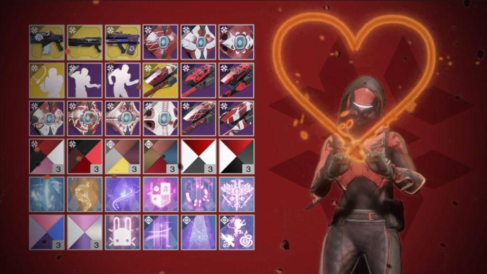 Destiny 2 prepara su evento de San Valentín a partir del 13 de febrero 1