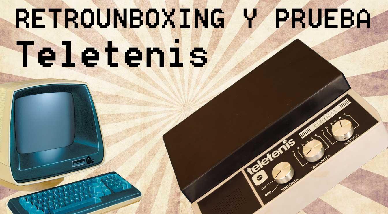 Teletenis Compact, retrounboxing y gameplay 1