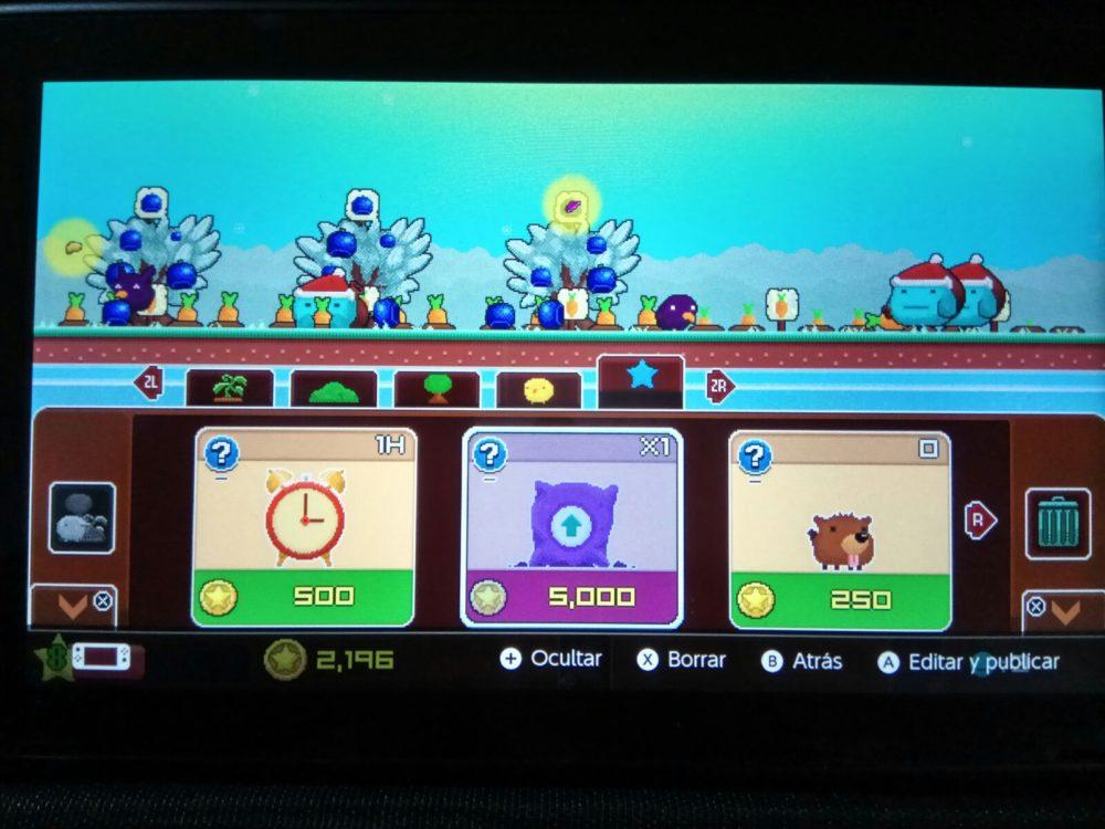 Plantera DX, analizamos el nuevo jardín que llega a Nintendo Switch 6