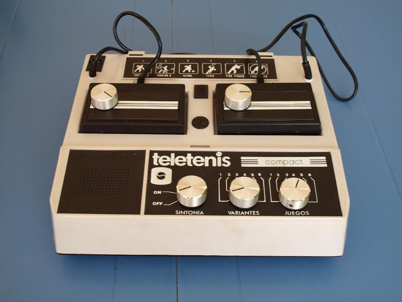 Teletenis Compact, retrounboxing y gameplay 4