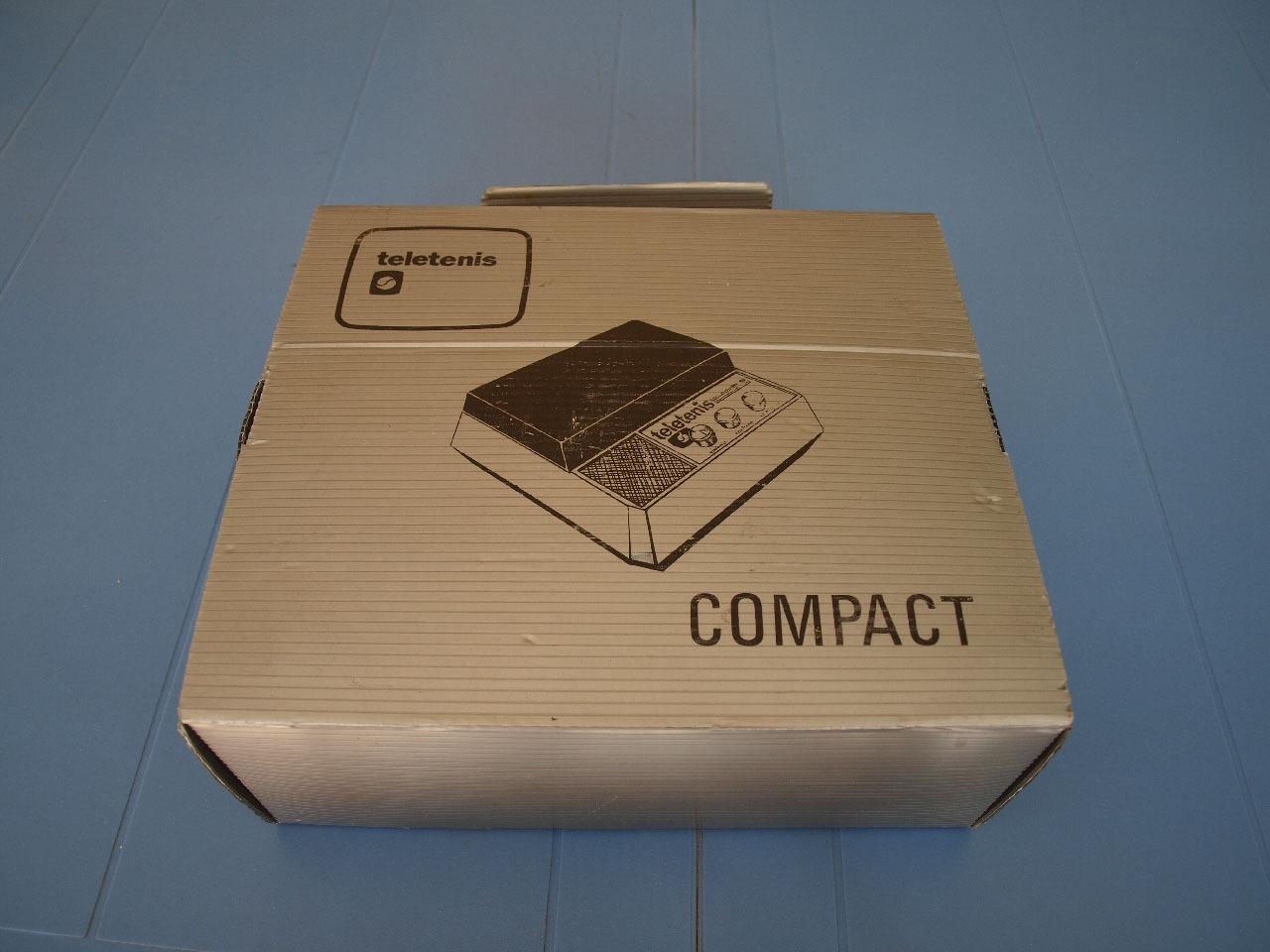 Teletenis Compact, retrounboxing y gameplay 2