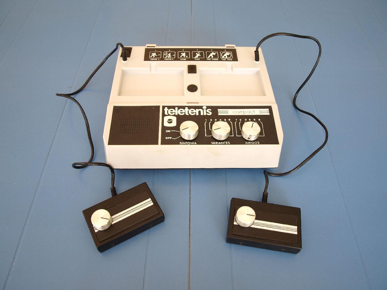 Teletenis Compact, retrounboxing y gameplay 5