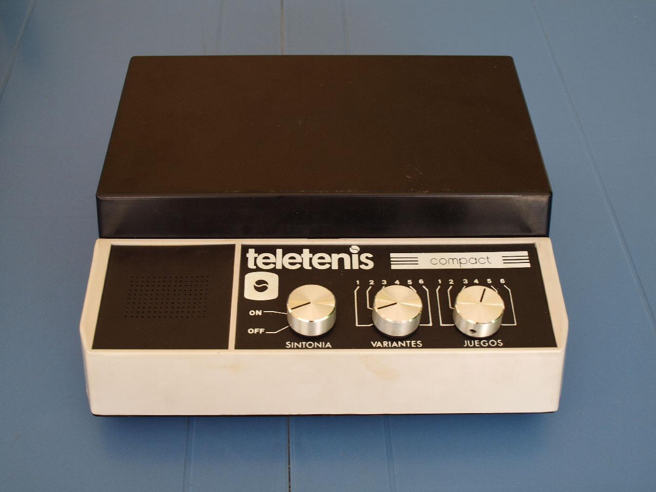 Teletenis Compact, retrounboxing y gameplay 3