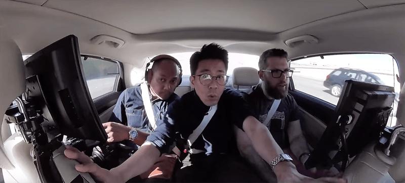 Phantom AI presenta su coche autónomo estrellandolo ante la prensa 1