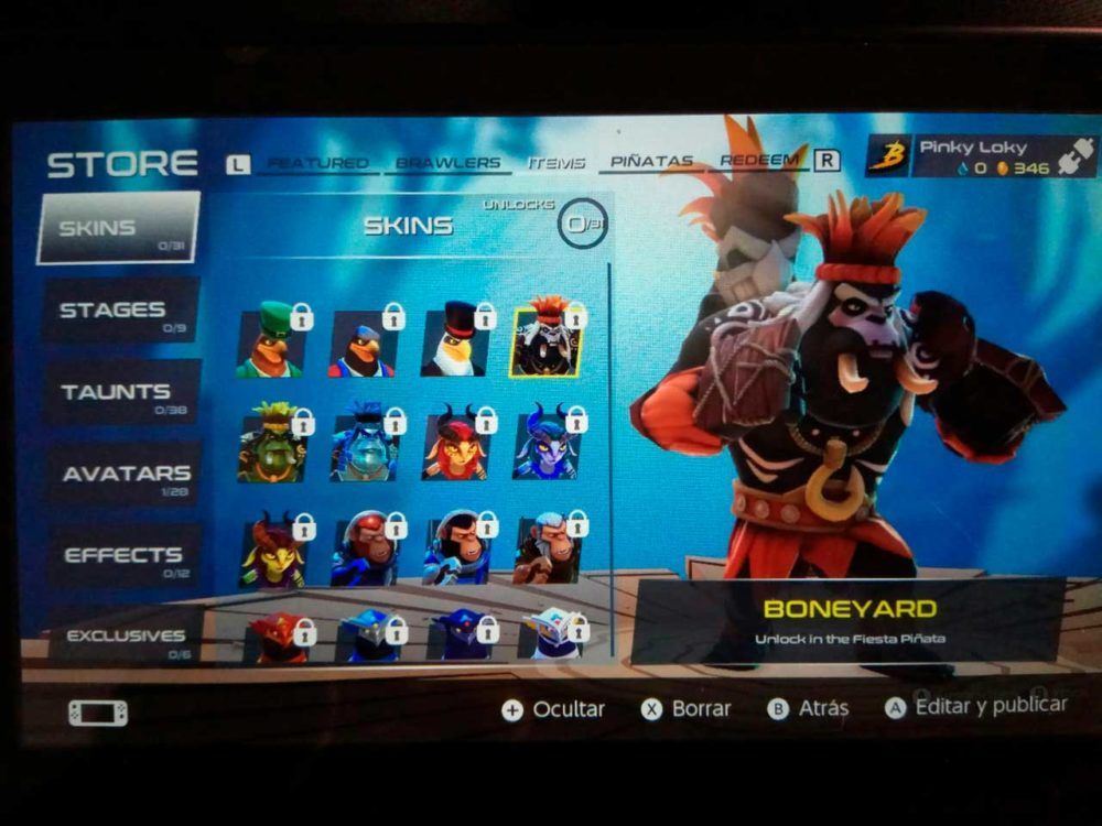 Brawlout, analizamos este juego de lucha para Nintendo Switch 7