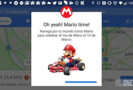 Mario en Google Maps