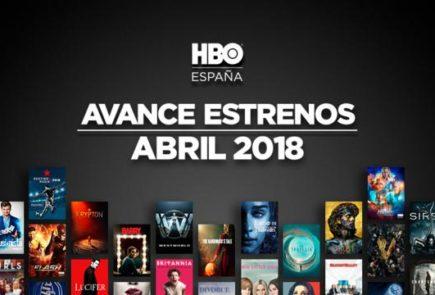 Estrenos de HBO para Abril