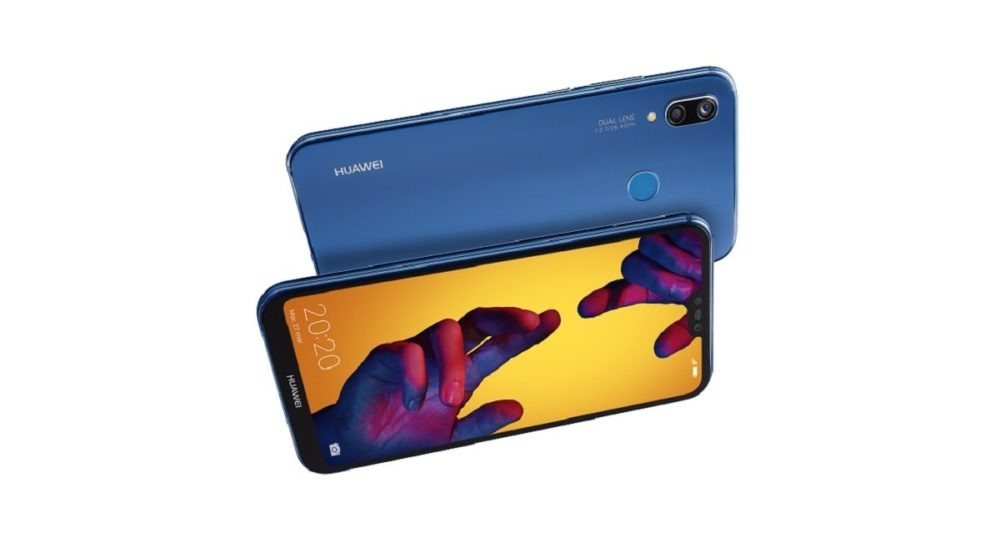 Huawei P20 lite, el pequeño de la gama viene con pantalla FullView