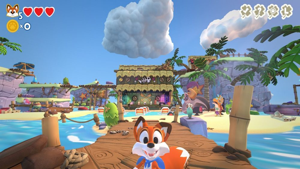 Analizamos el DLC Super Lucky's Tale: Gilly Island 2