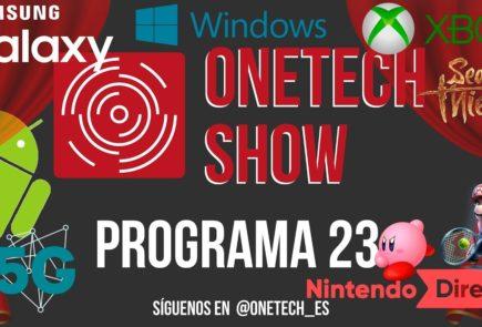 MWC, Samsung Galaxy S8, IA, Nintendo Switch y Game Pass los protagonistas de este nuevo OneTech Show 1