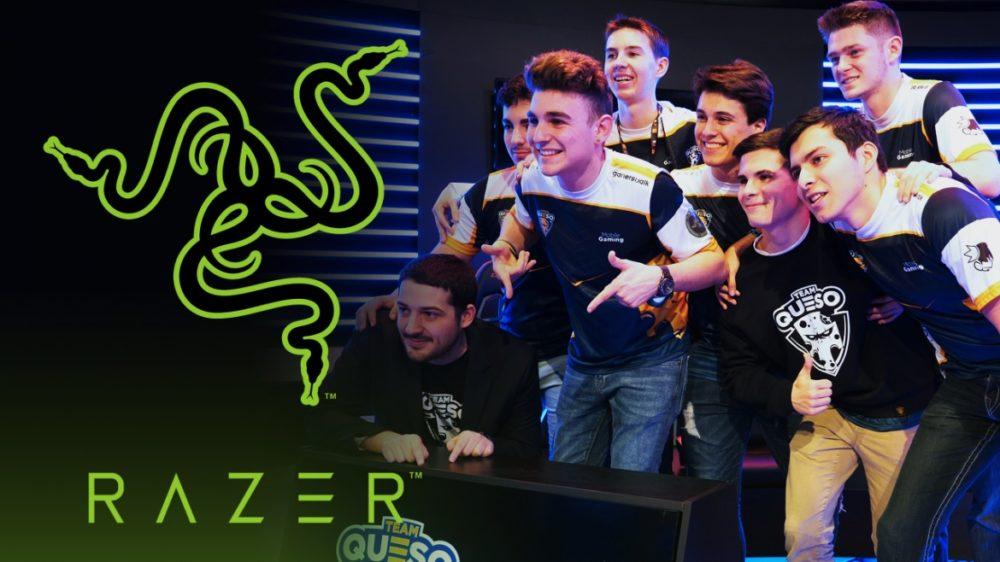 Razer anuncia el sponsor de Team Queso, equipo profesional en plataformas móviles