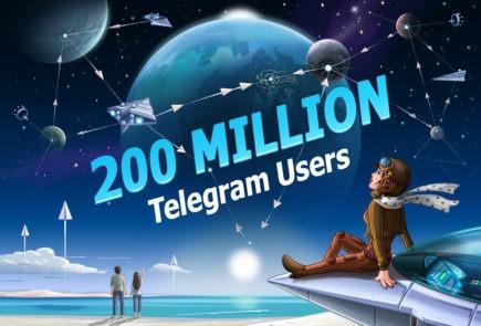 telegram 2oo millones usuarios