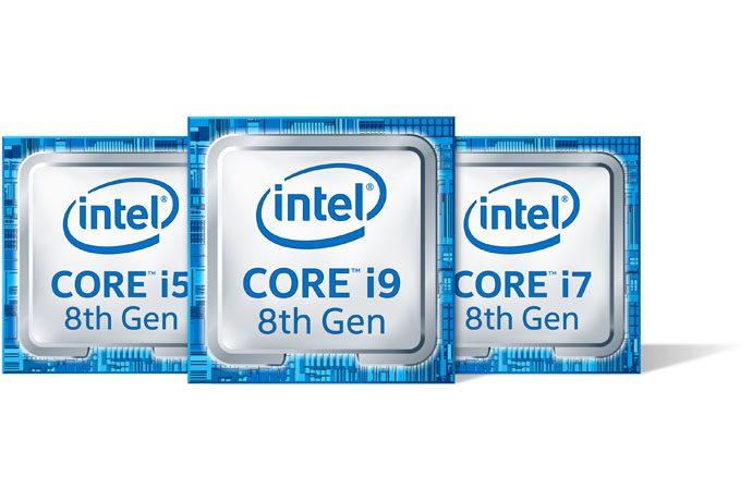 Intel anuncia sus procesadores Intel Core i9 de octava generación para portátiles