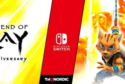 Legend of Kay Anniversary llegará el 29 de mayo para Switch
