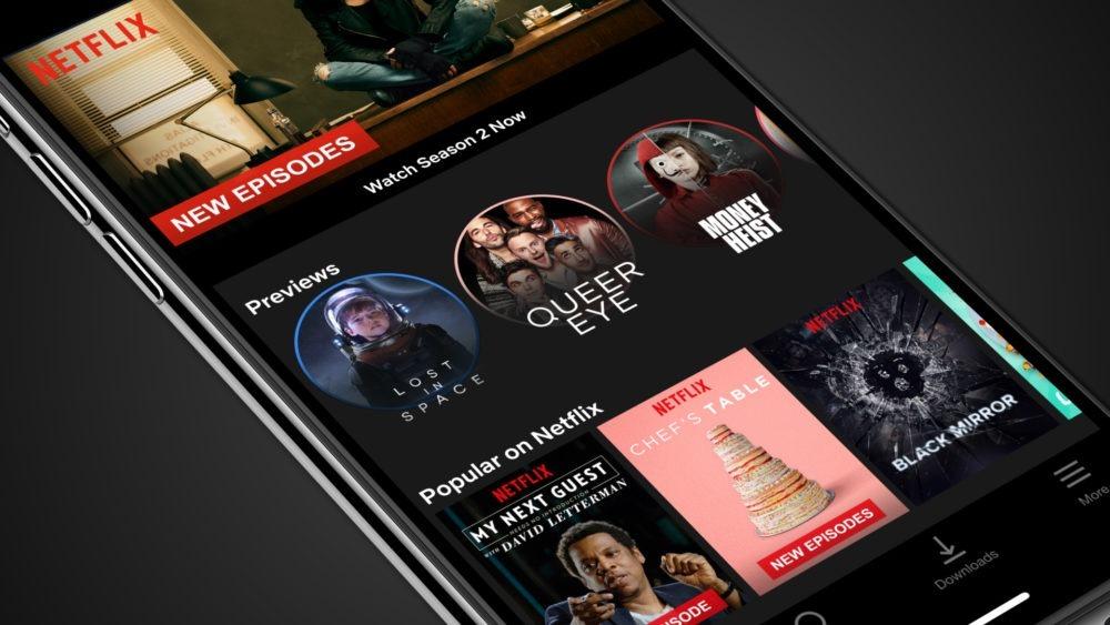 Netflix trae los avances a sus aplicaciones para móviles