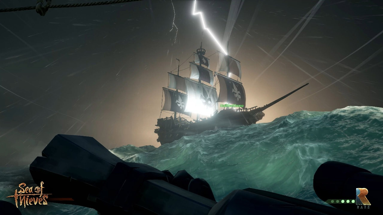 Sea of Thieves Storm