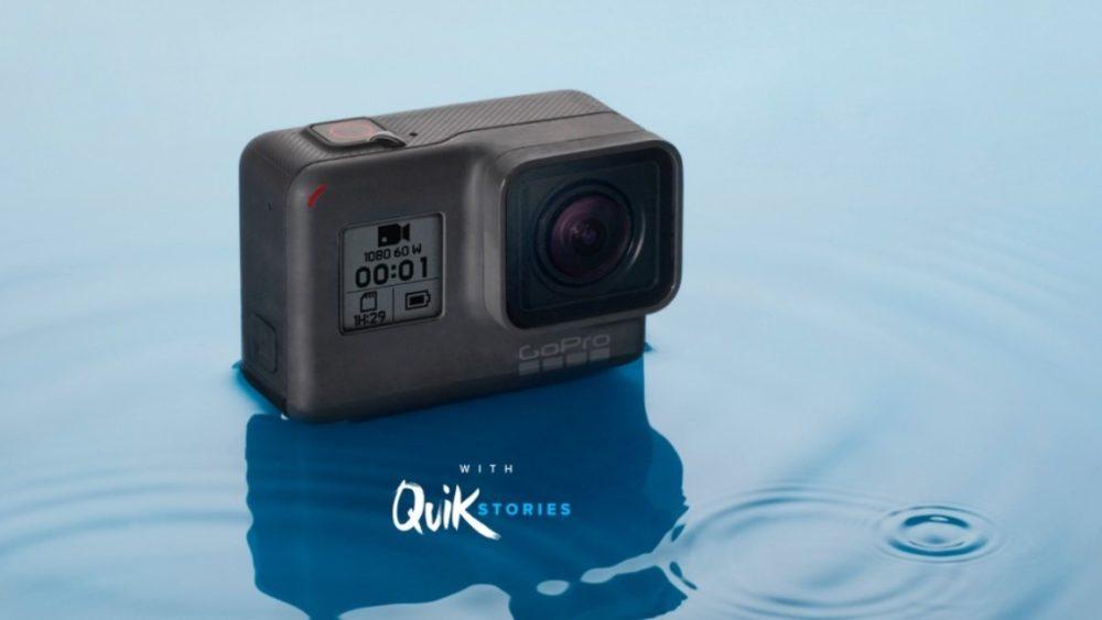 GoPro presenta su nueva cámara Hero 2018 por 219.99€