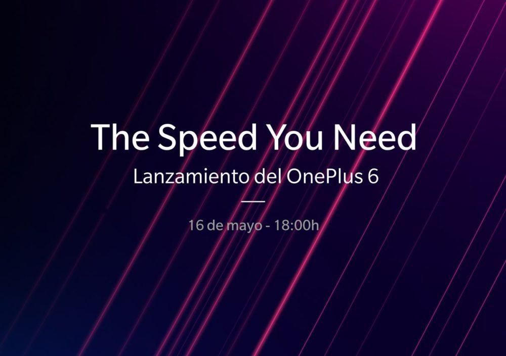 El OnePlus 6 se presentará en Londres el próximo 16 de mayo y puedes asistir en directo 1
