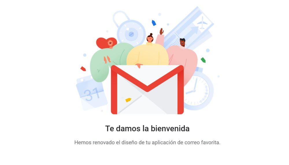 nuevo gmail service