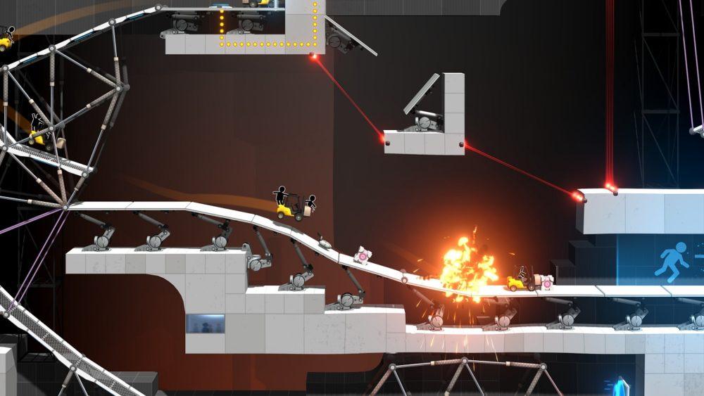Bridge Constructor: Portal, análisis del centro de desarrollo de Aperture Science 4
