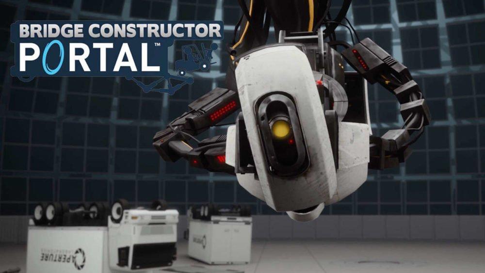 Bridge Constructor: Portal, análisis del centro de desarrollo de Aperture Science 1