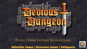 Devious Dungeon Titulo