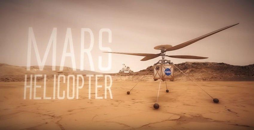 La NASA enviará un helicoptero a Marte en 2020
