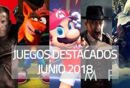 Juegos destacados que se lanzan en junio de 2018
