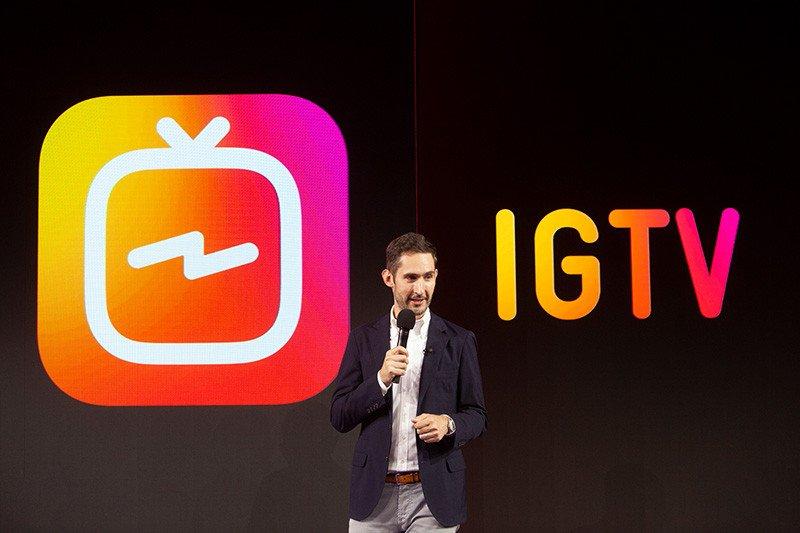 IGTV llega la televisión de Instagram