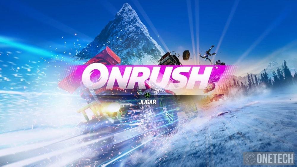 OnRush, analizamos esta locura de juego ¡Agarrate a la silla!