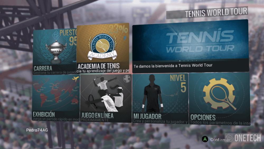 Tennis World Tour, analizamos este título para amantes de la raqueta 3