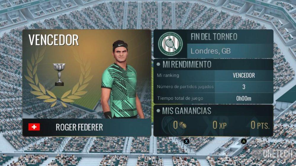 Tennis World Tour, analizamos este título para amantes de la raqueta 1