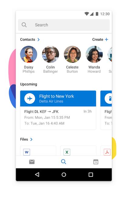 Microsoft Outlook, la aplicación de gestión de correo para Android 2