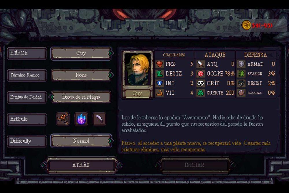 Runestone Keeper, análisis de este roguelike 2
