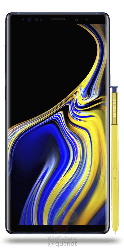 Samsung Galaxy Note9, estas son las mejores imágenes filtradas 2