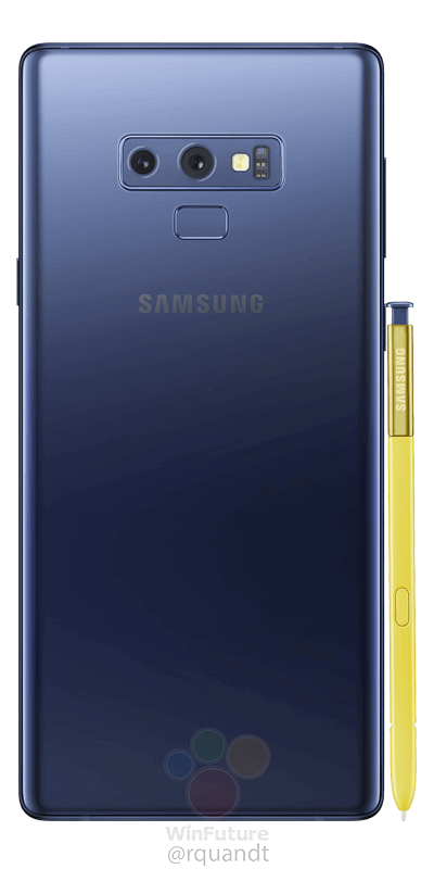 Samsung Galaxy Note9, estas son las mejores imágenes filtradas 3
