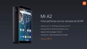 Xiaomi presenta los nuevos Mi A2 y Mi A2 Lite 1
