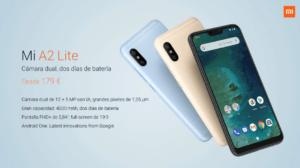Xiaomi presenta los nuevos Mi A2 y Mi A2 Lite 2