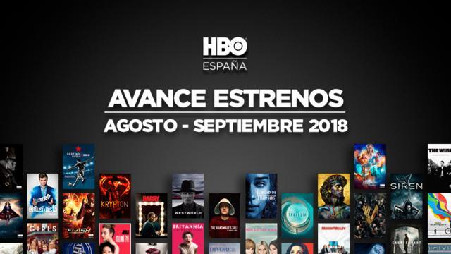 estrenos HBO para Agosto